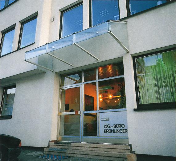 Bürogründung (Tragwerksplanung) durch Manfred Breinlinger