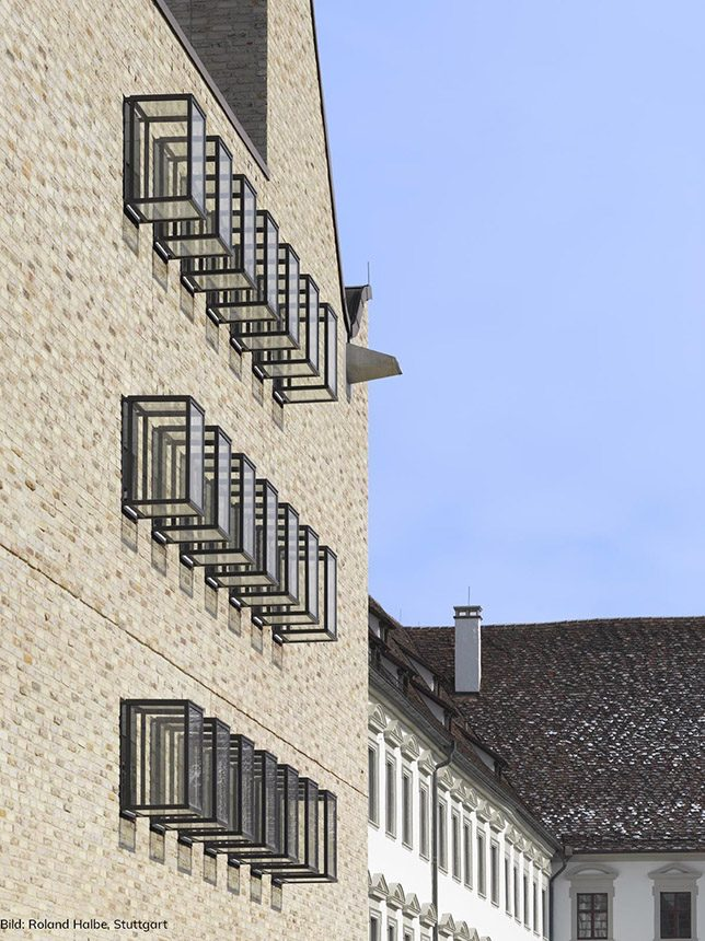 O: Fassade Perspektive
