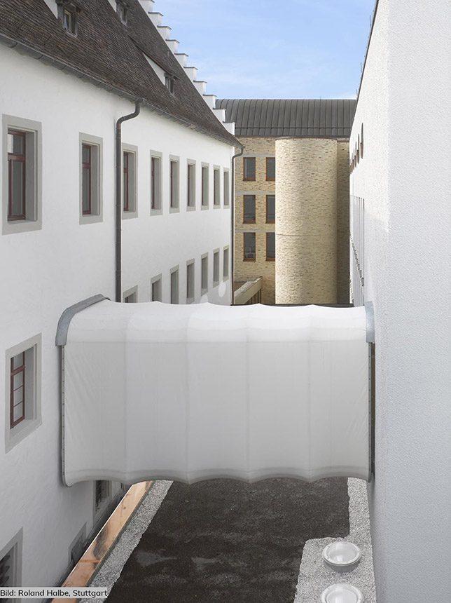 Abblick, Durchgang Innenhof