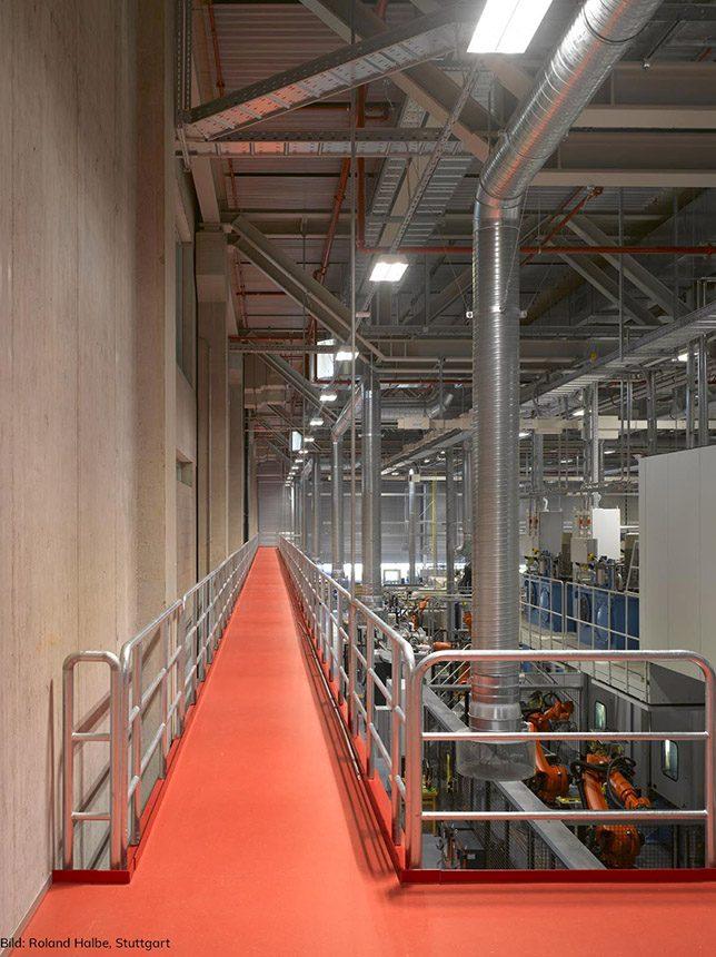 1.OG: Produktionshalle