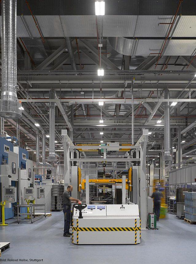 EG: Produktionshalle